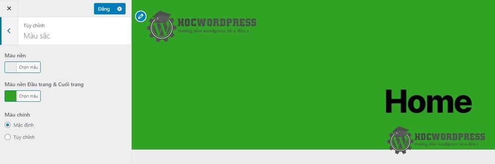 Tuỳ biến wordpress