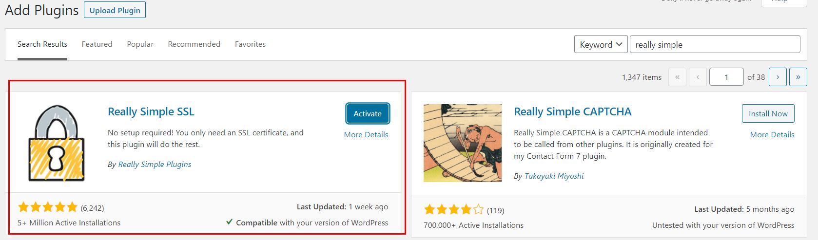 cài đặt https cho wordpress
